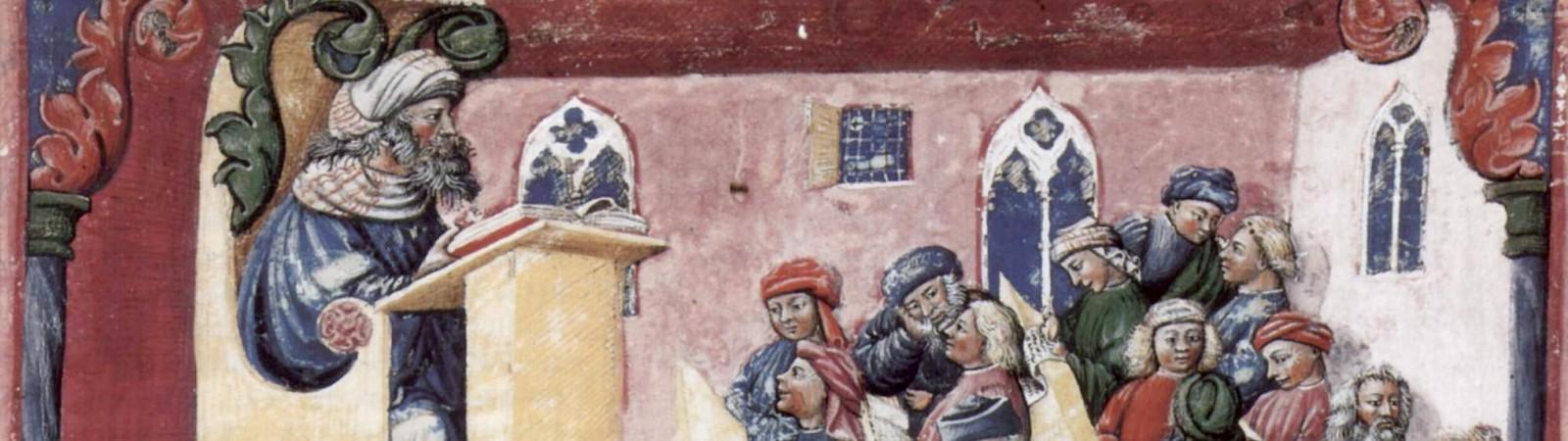 viduramžių mokykla